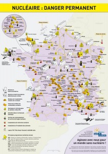 フランスの原発状況と原発分布